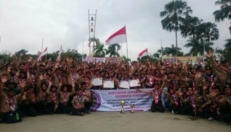 Kontingen Gerakan Pramuka Meraih Juara Umum Di JamboreMalaysia